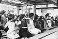 Enfants pratiquant le Katsugen Undo à Seitai Kyokai, Tokyo.jpg