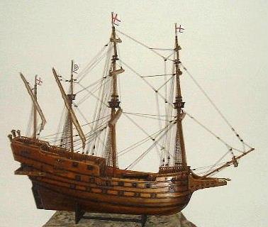 English Galleon Model