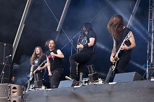 Entombed A.D. - Entombed A.D. performing at the Rockharz Open Air 2016 in Germany