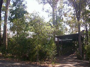 Brisbane Forest Park - Park entrance