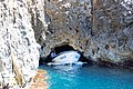 Entrance of the Blue Cave on Bisevo island in Croatia (48693937372).jpg