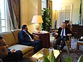 Entretient de M. Rafik Abdessalem, Ministre des Affaires Etrangères, avec le Secrétaire Général de la Ligue des Etats Arabes Nabil Al-Arabi. (6806027087).jpg