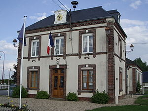 Épinay, Eure - Town hall (19th century)