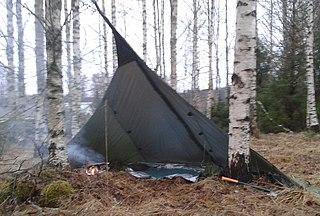 Loue (tent) ultra-light Finnish open tent