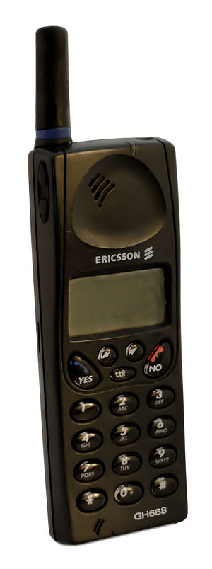 Ericsson Mobile Communications - Ericsson GH688, is a GSM phone on the Jane-platform