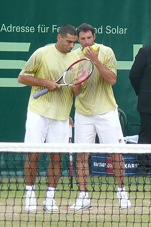 Andy Ram - Ram/Erlich at the 2008 Gerry Weber Open