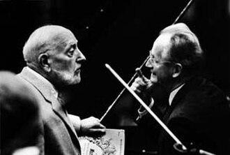 Ernest Ansermet - Ansermet and Wilhelm Kempff (1965)