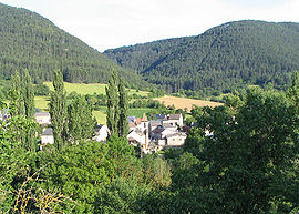 Esclanèdes in the Lot valley