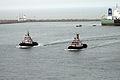 Escort Navy ships at Vizag Sea port.JPG