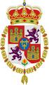 Escudo Real Pequeño (Toisón) 1700-1868.png