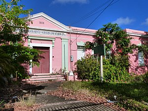 National Register of Historic Places listings in southern Puerto Rico - Image: Escuela Eleuterio Derkes 1 Guayama Puerto Rico