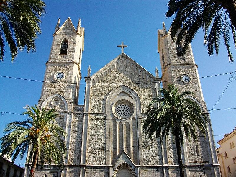 File:Església de la Purríssima Xiqueta de Benissa.JPG Бенисса (Benissa), Коста Бланка, Испания