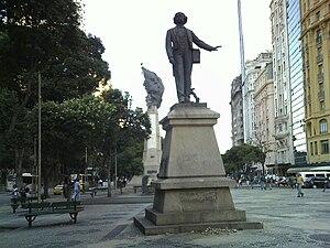 Antônio Carlos Gomes - Image: Estátua de Carlos Gomes Centro do Rio