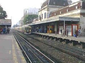 2011 Flores rail crash - Flores rail station, location of the 2011 crash