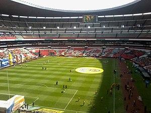 1986 FIFA World Cup Final - The Estadio Azteca held the final