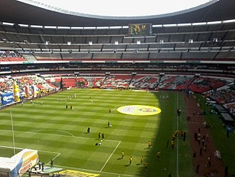 1970 FIFA World Cup Final - The Estadio Azteca held the final
