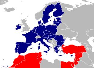 Mediterran Bedeutung euro-mediterrane partnerschaft – wikipedia