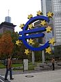 Euro sign Frankfurt.jpg