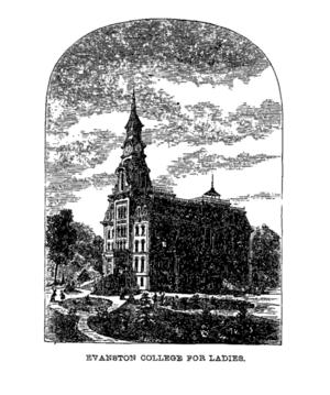 Evanston College for Ladies - Image: Evanston College for Ladies
