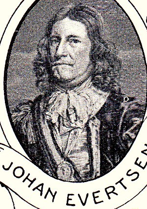 Johan Evertsen - Admiral Johan Evertsen.