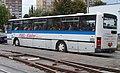 Evropská, dočasné přejezdové obratiště Červený vrch, autobus POHL Kladno (01).jpg