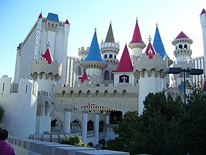 Excalibur Hotel and Casino in Las Vegas, Nevada.