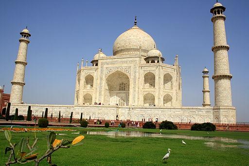Exotic Taj Mahal.