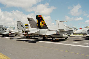 VFA-25 - VFA-25 Hornets in 2000