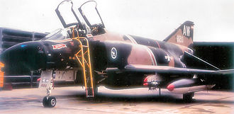 366th Fighter Wing - McDonnell F-4D-33-MC Phantom Serial 66-8820 of the 389th Tactical Fighter Squadron.