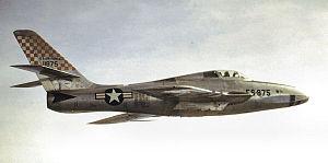 837th Air Division - 363 Tac Recce Wing RF-84F at Shaw AFB
