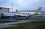 F-BTMU Piper Navajo Brit air CVT 29-04-81 (33870794315).jpg