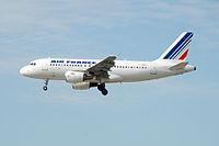 F-GRHU - A319 - Air France