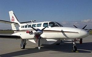 Reims-Cessna F406 Caravan II - A Cessna F406 of Air-taxi Europe