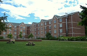 Fairleigh Dickinson University - Dormitory at Florham campus
