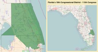 Floridas 18th congressional district American political district