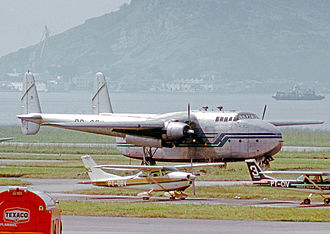 Fairchild C-82 Packet - C-82A Packet freighter of Cruzeiro (Brasil) at Santos Dumont Airport, Rio de Janeiro, in May 1972