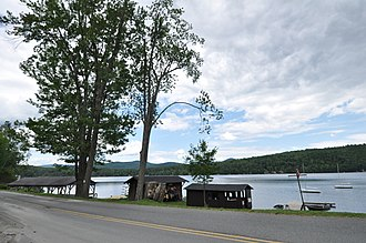 National Register of Historic Places listings in Orange County, Vermont - Image: Fairlee VT Aloha Camp