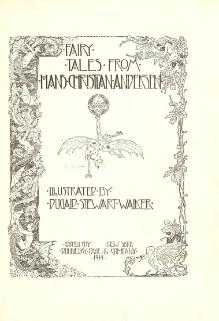 Fairy tales from Hans Christian Andersen (Walker).djvu