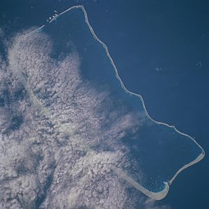 Fakarava - NASA picture of Fakarava Atoll