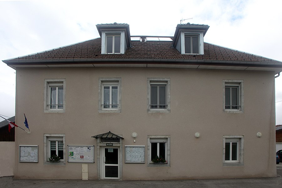 Mairie de Fallerans (Doubs).