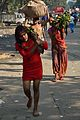 Family with Offerings - Chhath Festival - Strand Road - Kolkata 2013-11-09 4341.JPG