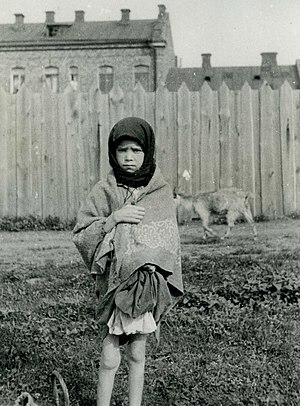 Ukrainians - A girl in Kharkiv during the Holodomor