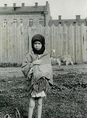 Ukrainians - A girl in Kharkiv during the Holodomor