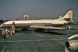 Far Eastern Air Transport - Far Eastern Air Transport Sud Aviation Caravelle in 1972.