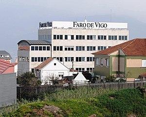 Faro de Vigo - Image: Faro de Vigo, Chapela, Redondela