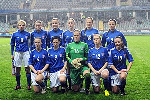 Faroe Islands women's national football team - Faroe Islands national team in 2013