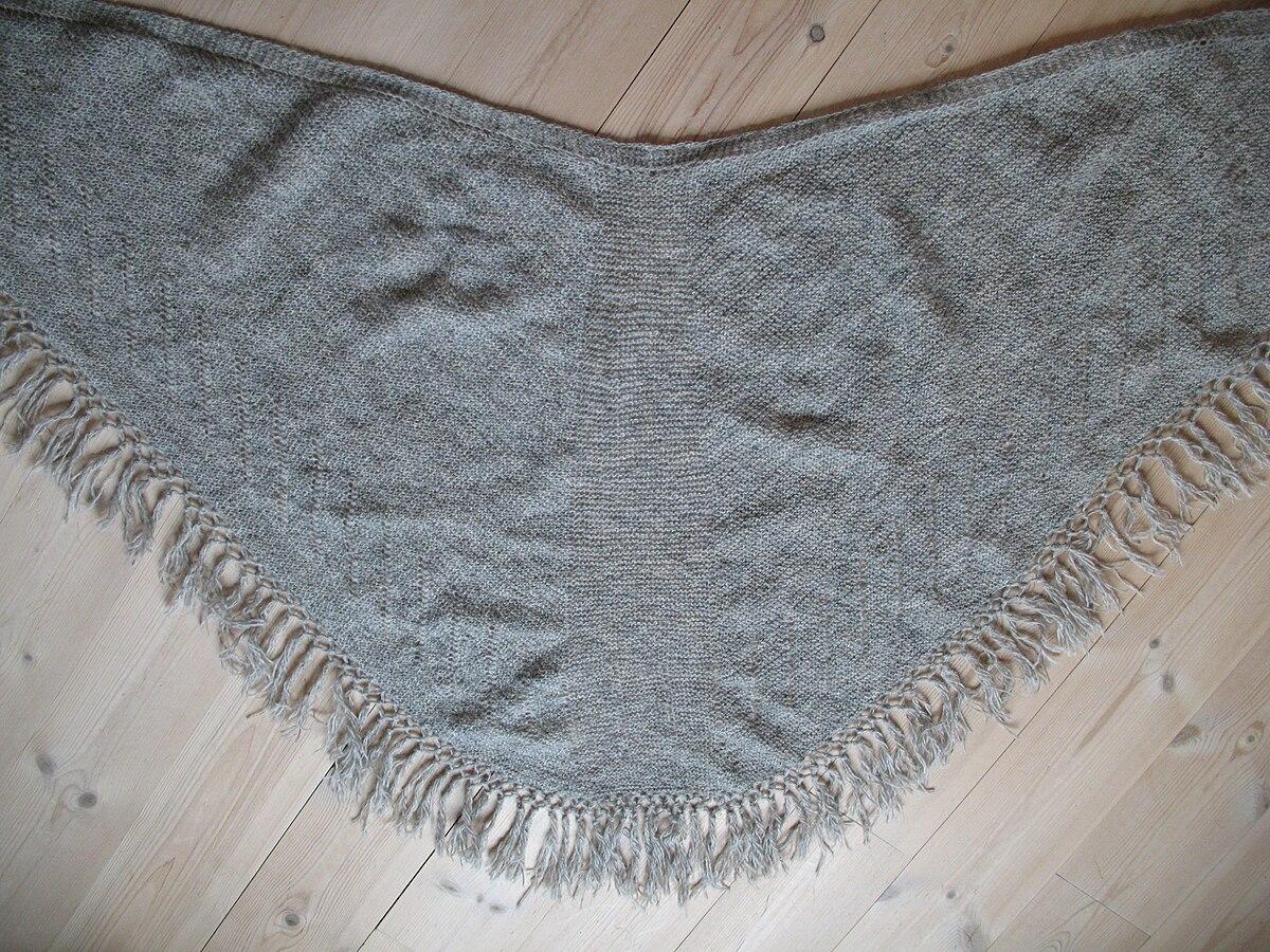 Faroese shawl - Wikipedia