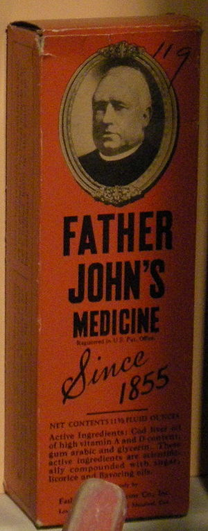 History of Lowell, Massachusetts - Father John's Medicine