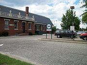 Fayetteville Amtrak-ACL Station; Parking Lot