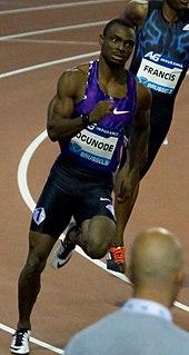Femi Ogunode Nigerian-born sprint athlete (born 1991)